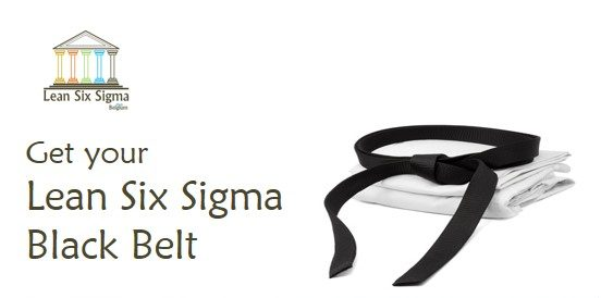 Lean Six Sigma Black Belt Training Belgium