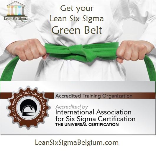 Lean Six Sigma Green-Belt Training Belgium 2