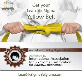 Lean Six Sigma Yellow Belt Training Belgium 2