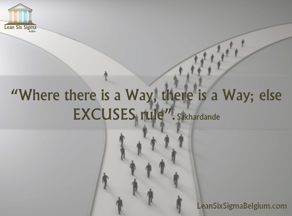 Operational Excellence Quotes Lean Six Sigma Belgium Classy Excellence Quotes