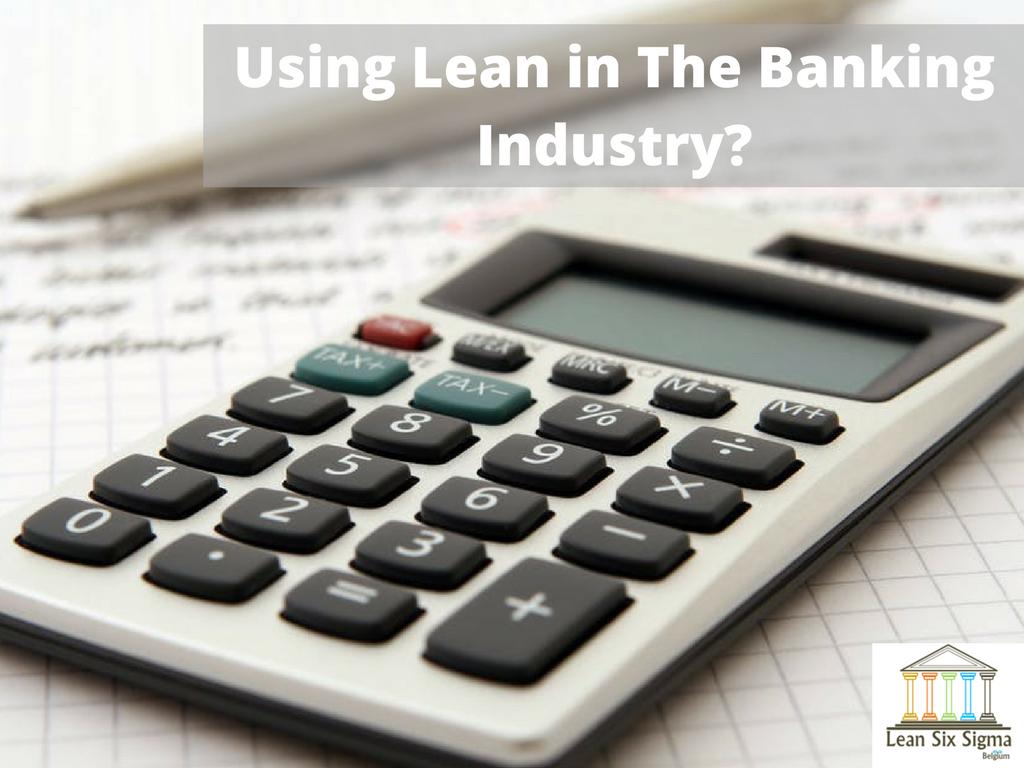 lean banking industry