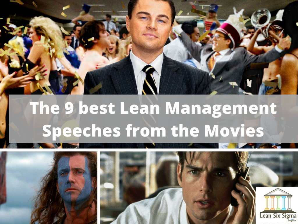 lean management speeches in the movies