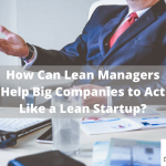 lean manager start up