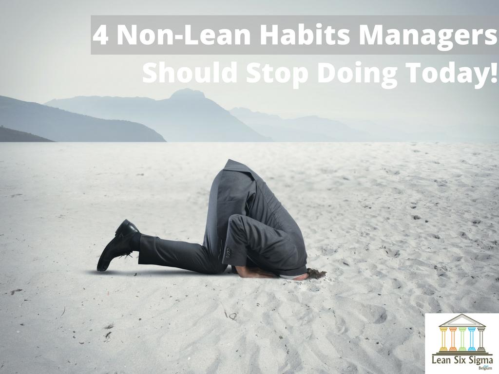 non lean habits