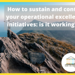 sustain operational excellence