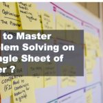 How to Master Problem Solving on a Single Sheet of Paper Lean Six Sigma Belgium