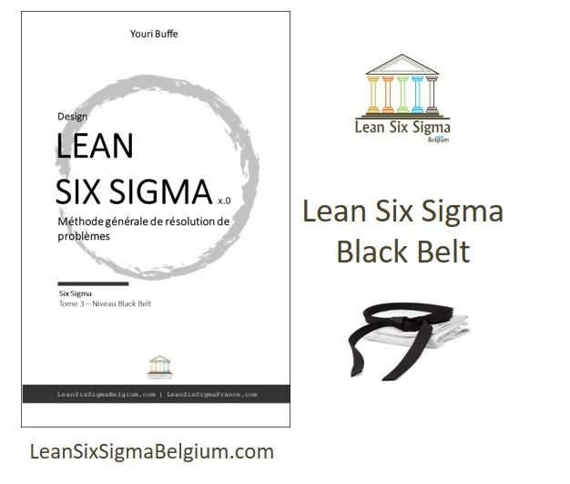 lean six sigma black belt training belgium