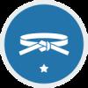 Blue Training Icon